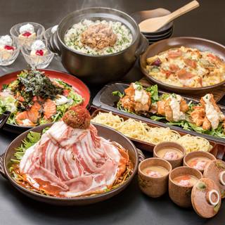 海鮮屋自慢の新鮮な魚介類!宴会コースはお得な飲み放題付!