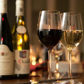 ヨーロッパを中心とした、美味しいワインを取り揃えました♪
