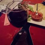多国籍料理 麦風亭 - 赤ワイン