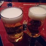 多国籍料理 麦風亭 - ビールで乾杯