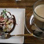 猿カフェ - デザート