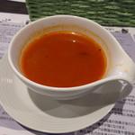 77490075 - ランチのスープ