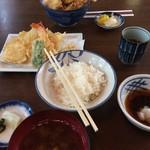77491139 - 天丼と天ぷら定食