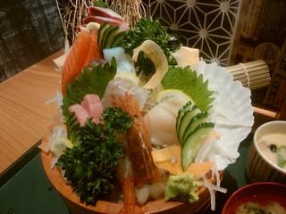 かんきち 福井駅前店 - 「刺身定食」
