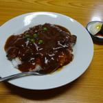 田舎洋食いせ屋 - いせ屋特製カツ丼1200円