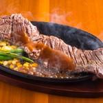 ジャンボステーキはらぺこや - ジャンボステーキ(300g)1500円