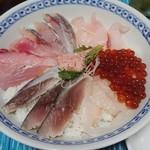 発寒かねしげ鮮魚店 - 自作海鮮丼