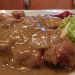 ピカドン - 料理写真:チキンカツカレー