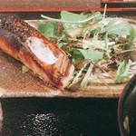 料理屋壱 - さわら香味焼き