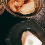 料理屋壱 - 鳥天と豆腐