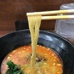 杏亭 - 麺…リフトアップ