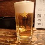 食事処 藤 - ビール