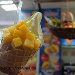 パーム - マンゴーソフトクリーム