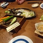 伊達な仙台炉端 強次朗 - お通しの野菜
