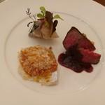 77502727 - 本格的なメイン級のお料理が少しずつ、豪華な前菜盛り合わせ