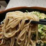 名代 富士そば - 乱切り蕎麦リフト