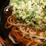 名代 富士そば - ちらっと乱切り蕎麦