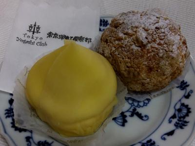 東京洋菓子倶楽部 - モンブラン&シュークリーム