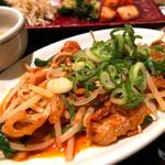 水刺間 - 豚バラピリ辛炒め定食