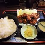 77506157 - 【ランチメニュー】鶏唐揚定食