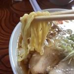 麺屋○文 - にぼしデラックススマート  細麺