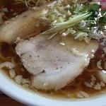 麺屋○文 - にぼしデラックススマート  背脂さん