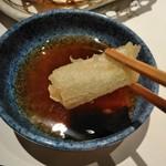 がんこ - [料理] 長ネギ天 アップ♪w