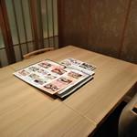 がんこ - [内観] 店内 テーブル席 ①