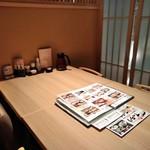 がんこ - [内観] 店内 テーブル席 ②