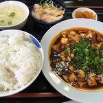 津香飯店 - 麻婆豆腐定食