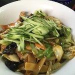 津香飯店 - 五目麺(汁無し)