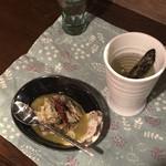 とびうおkitchen - あご酒と牡蠣のオイル漬け