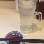 四谷 政吉 - そば焼酎蕎麦湯割り280円