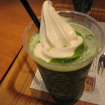 7751171 - 抹茶豆乳ソフトクリームラテ