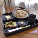十割そば 天宏 - 高野山でしか食べれない生ゴマ豆腐が・・・