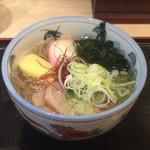 四谷 政吉 - 〆は鴨塩蕎麦680円