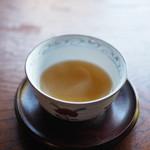安寧 - ほうじ茶がすごく美味しい