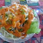 アジアンダイニング&バー エベレストキッチン - 料理写真:カレーライスセット(サラダ・ドリンク付) 650円のサラダ