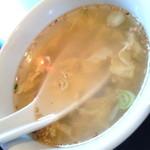 chuukachuubourakuyuuken - スープ