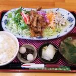 ばんぶう - ヘルシー焼肉サラダ定食 500円