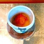 77512665 - 雲丹のせ茶碗蒸し