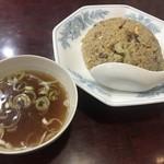 中華料理玄海 - 料理写真:炒飯餃子セット850円