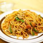 焼きスパゲッチ ミスターハングリー - ナポリタン (¥500)