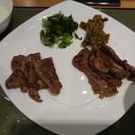 77514138 - 牛タン定食(ミックス)