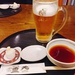 天ぷ羅 重天 - ドリンク写真:
