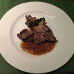 ワインレストラン ドミナス - ペルドローグリのポワレ
