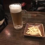 RENU - おビールとカッパエビセン