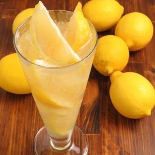 カルネのレモンサワー各種¥500~