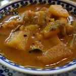 77521274 - 野菜カレー(辛口)