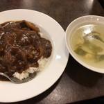 77522581 - 牛バラ肉のカレーご飯